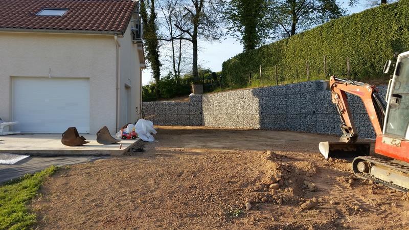 Mur de soutènement en GABION ! 20170419