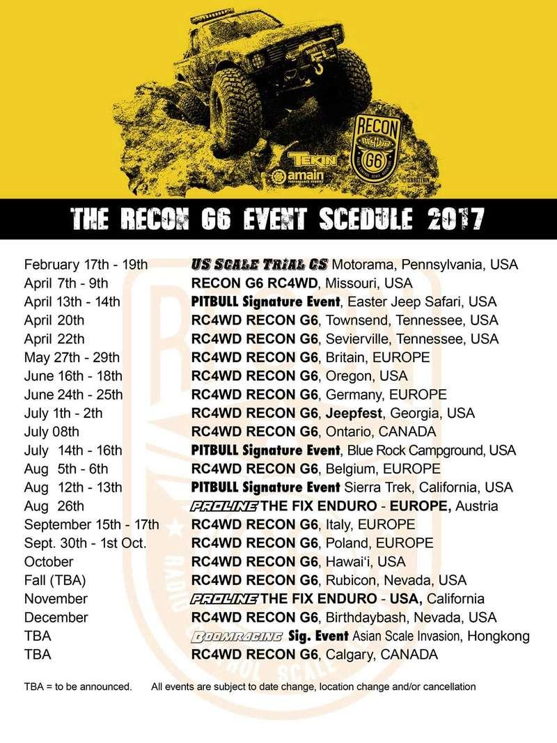 >>> RECON G6 <<<    Bilstain, 5 & 6 août 2017  17350010