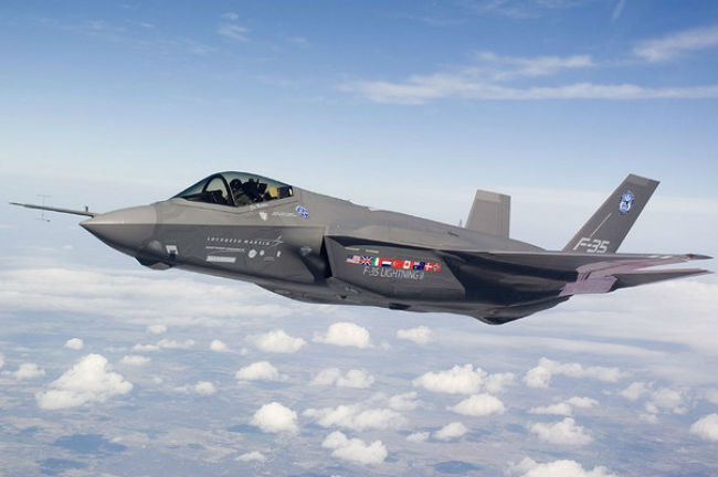 L'US Air Force envoie des F-35 en Europe 00016110