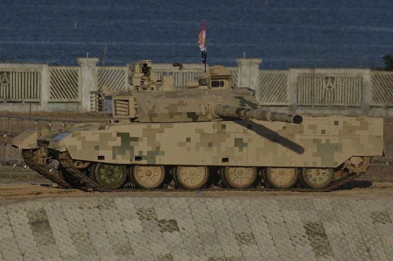 La Thaïlande achète un 2e lot de char de combat chinois VT-4 2017-010