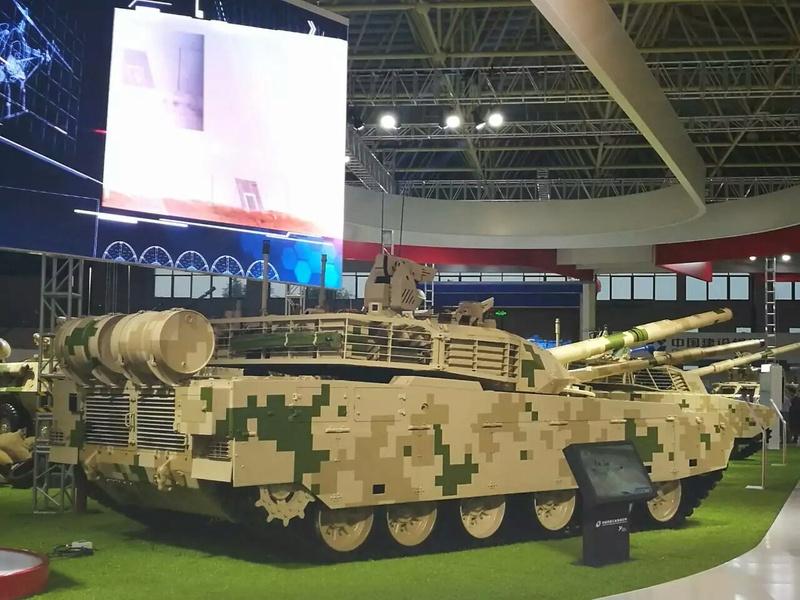 La Thaïlande achète un 2e lot de char de combat chinois VT-4 2017-011