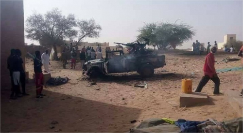 Réaction de BARKHANE après une attaque d'un camp FAMa 29786010