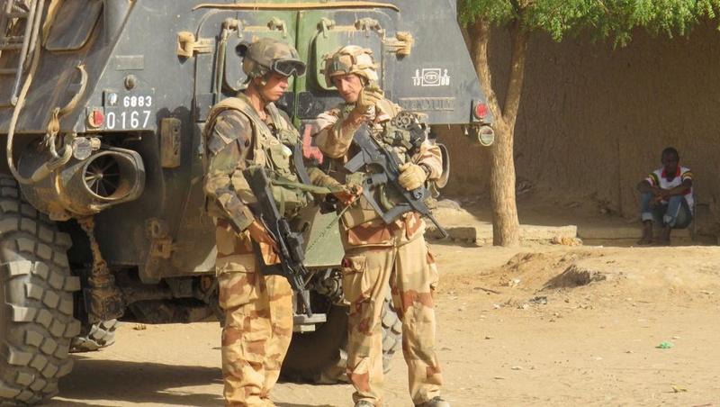 Une importante cache d'armes mise au jour par Barkhane Gao63910