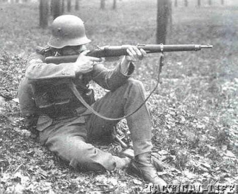 """Un Steyr M95 avec certains attributs """"effacés"""" Austra10"""