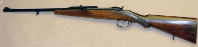 """Un Steyr M95 avec certains attributs """"effacés"""" Chasse10"""