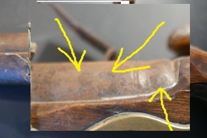 pistolet d'arçon fabrication première moitié XVIII... peut-être germanique... ou pas! L1030813