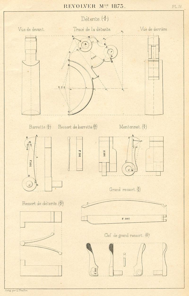 Matage rochet MAS 1873 Revolv10