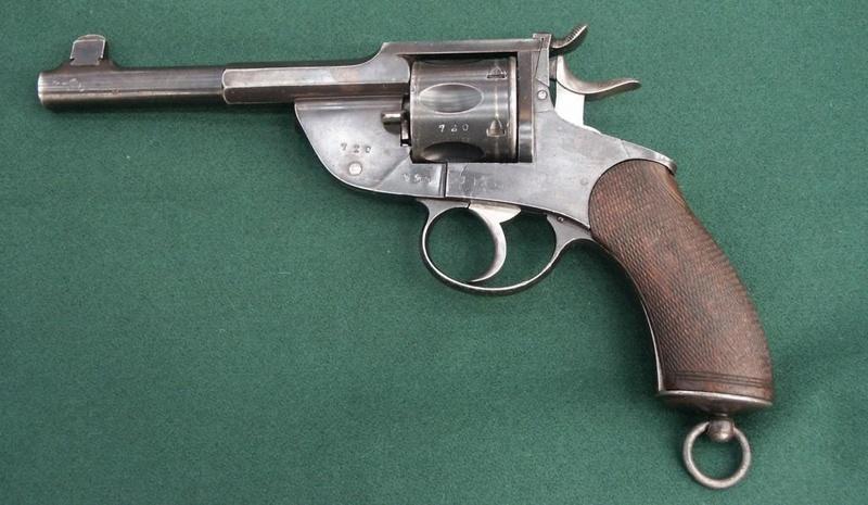 Revolver Marine Danois Mle 1891 Ronge211