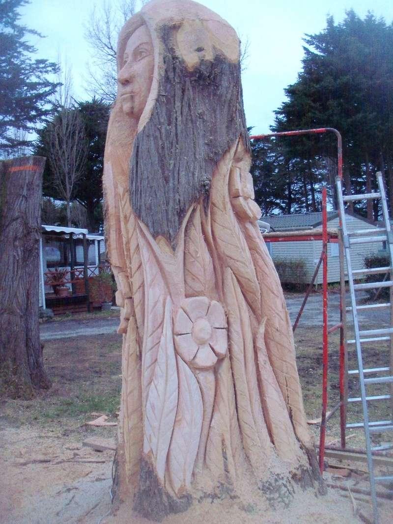 sculpture monumentale à la tronçonneuse 100_6914