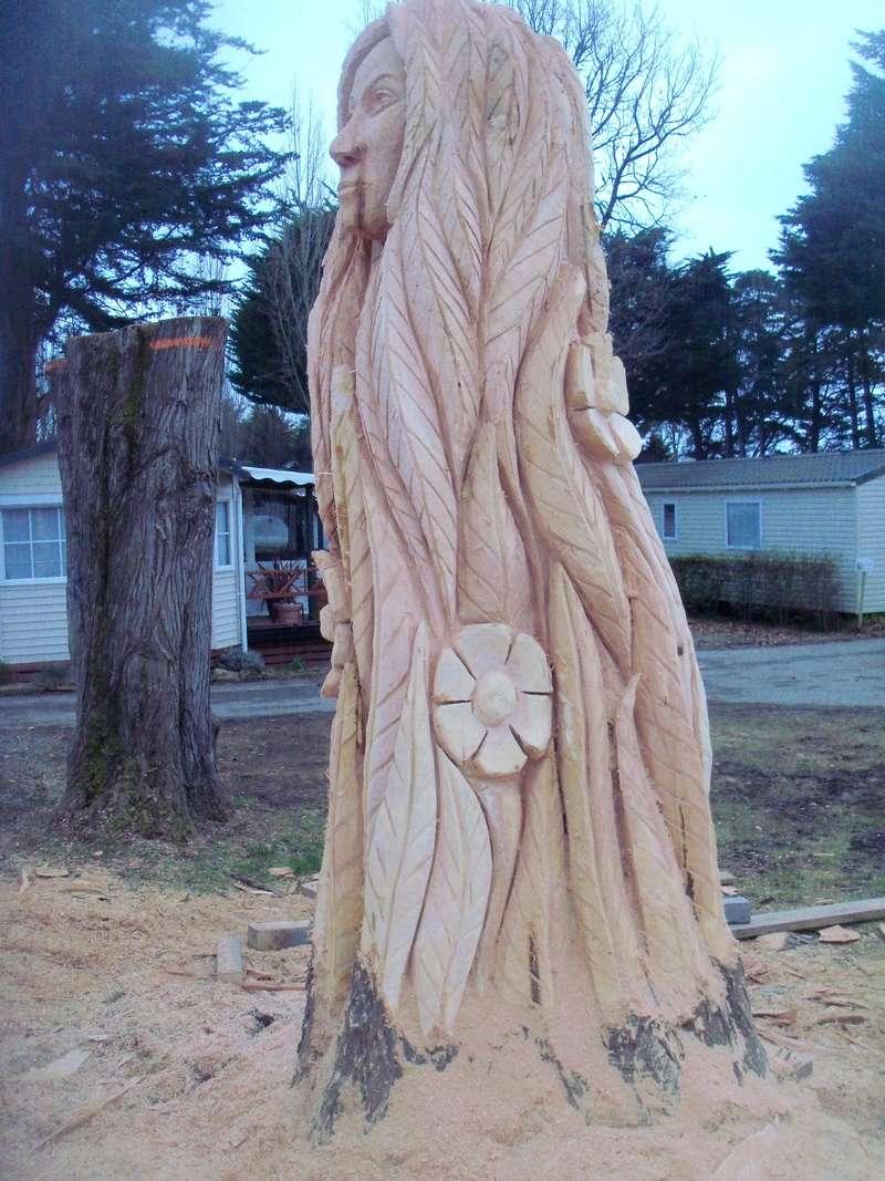 sculpture monumentale à la tronçonneuse 100_6916