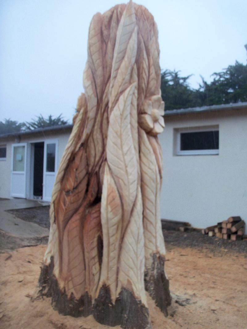 sculpture monumentale à la tronçonneuse 100_6918