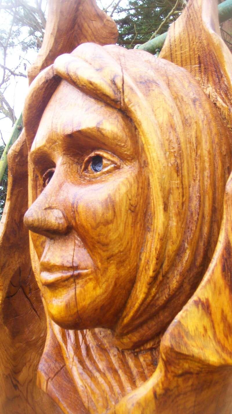 sculpture monumentale en chêne 100_7010