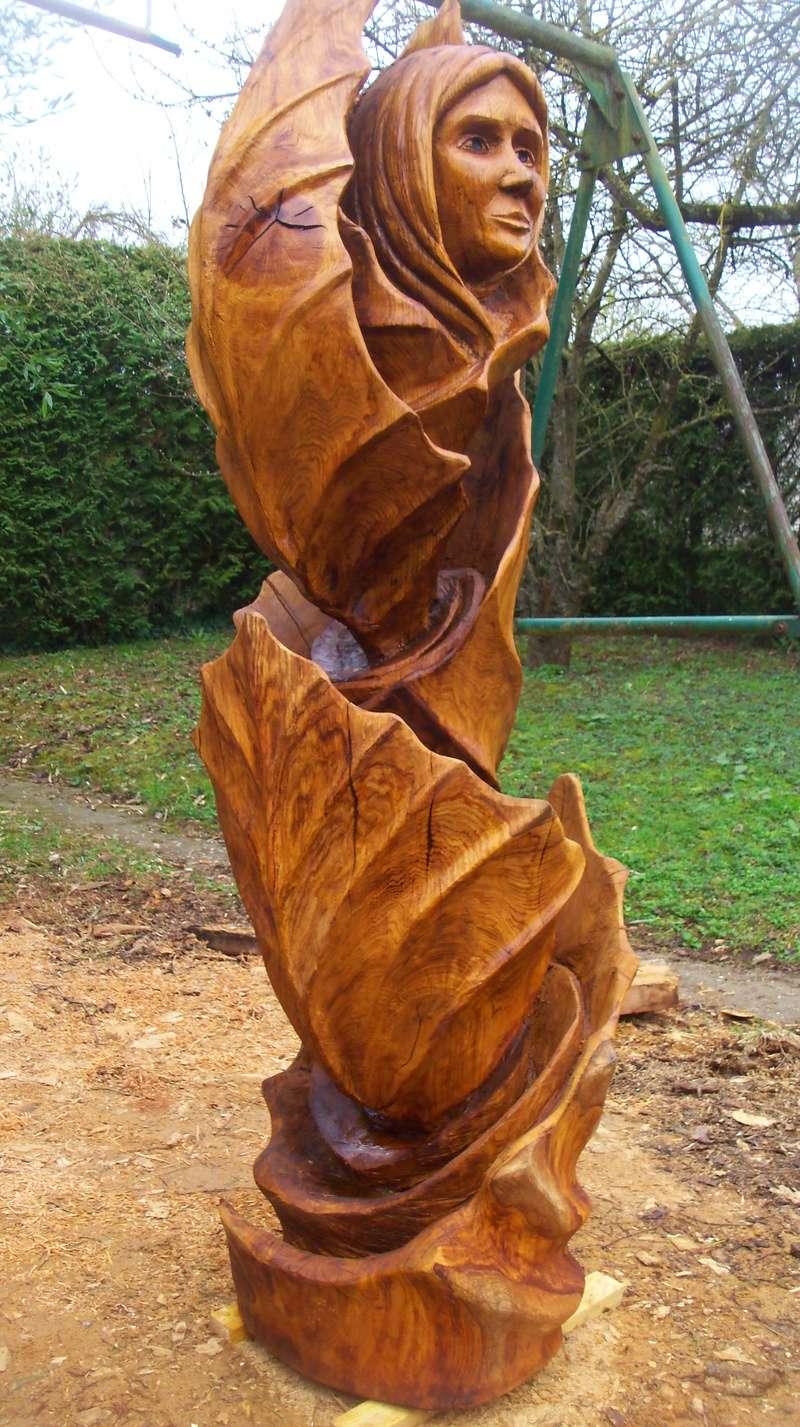 sculpture monumentale en chêne 100_7012