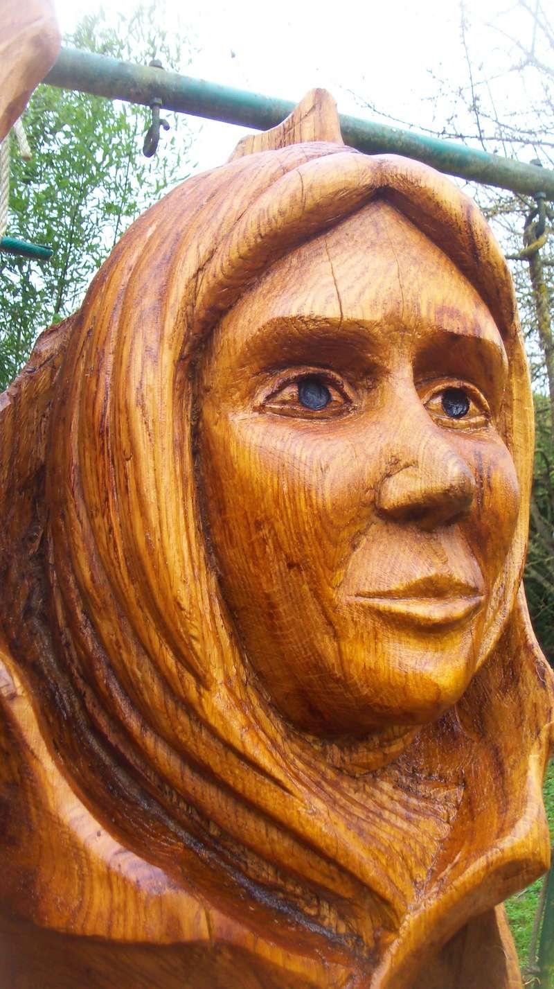 sculpture monumentale en chêne 100_7013