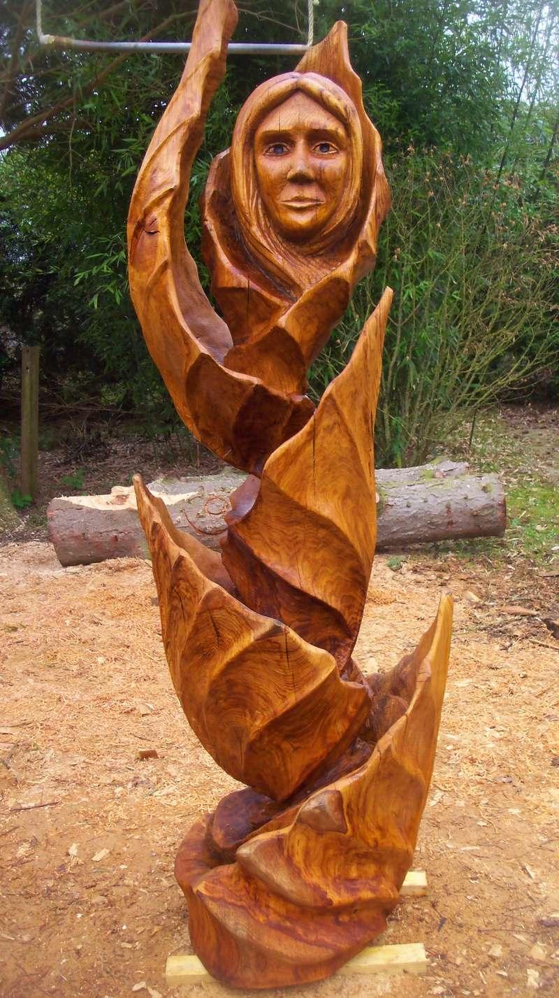sculpture monumentale en chêne 100_7014