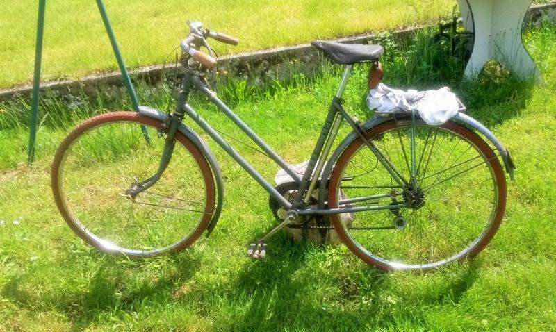 "Vélo mixte ""cadre anglais 1937-39 "" neuf ; A.DEFAYE -- CLERMONT-FERRAND 00512"