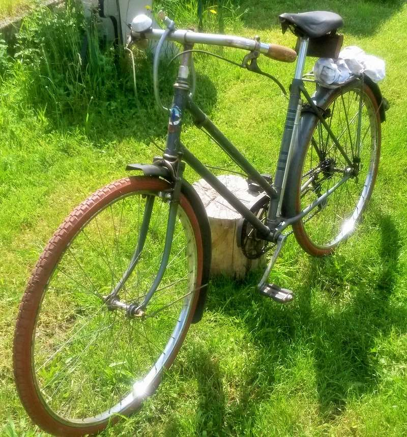 "Vélo mixte ""cadre anglais 1937-39 "" neuf ; A.DEFAYE -- CLERMONT-FERRAND 00611"