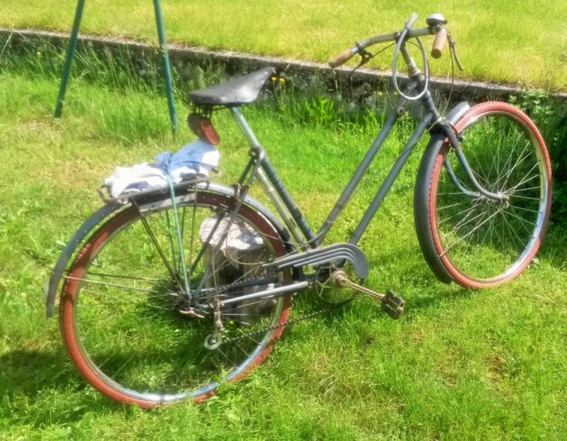 "Vélo mixte ""cadre anglais 1937-39 "" neuf ; A.DEFAYE -- CLERMONT-FERRAND 00712"