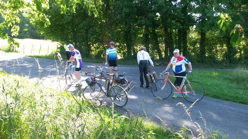 "balade vélo "" la meyze"" dimanche 11 juin 2017 07410"