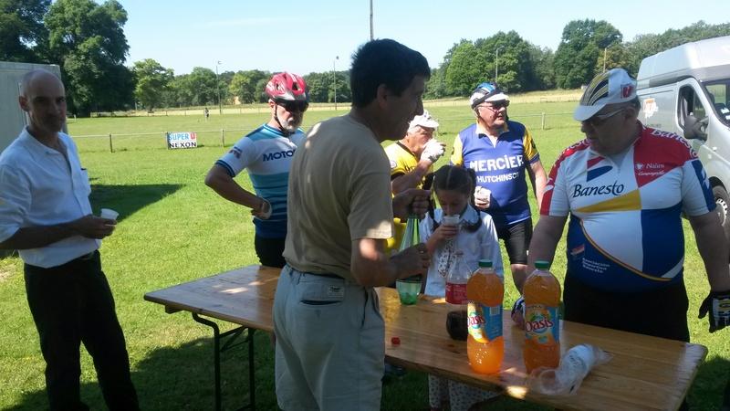 "balade vélo "" la meyze"" dimanche 11 juin 2017 07710"