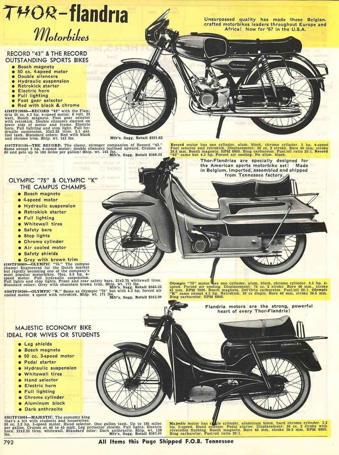 Moteur 75 cc flandria Flandr11