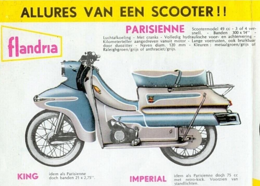 Moteur 75 cc flandria Flandr40