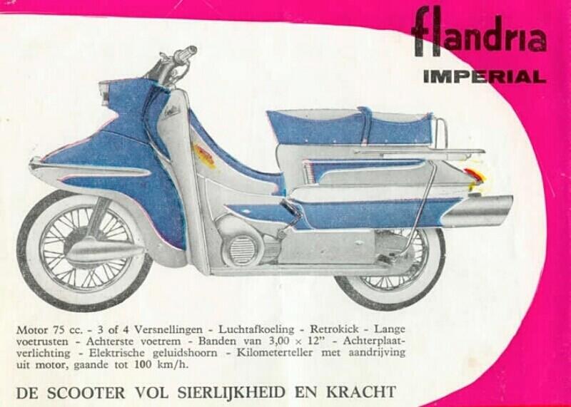 Moteur 75 cc flandria Flandr41