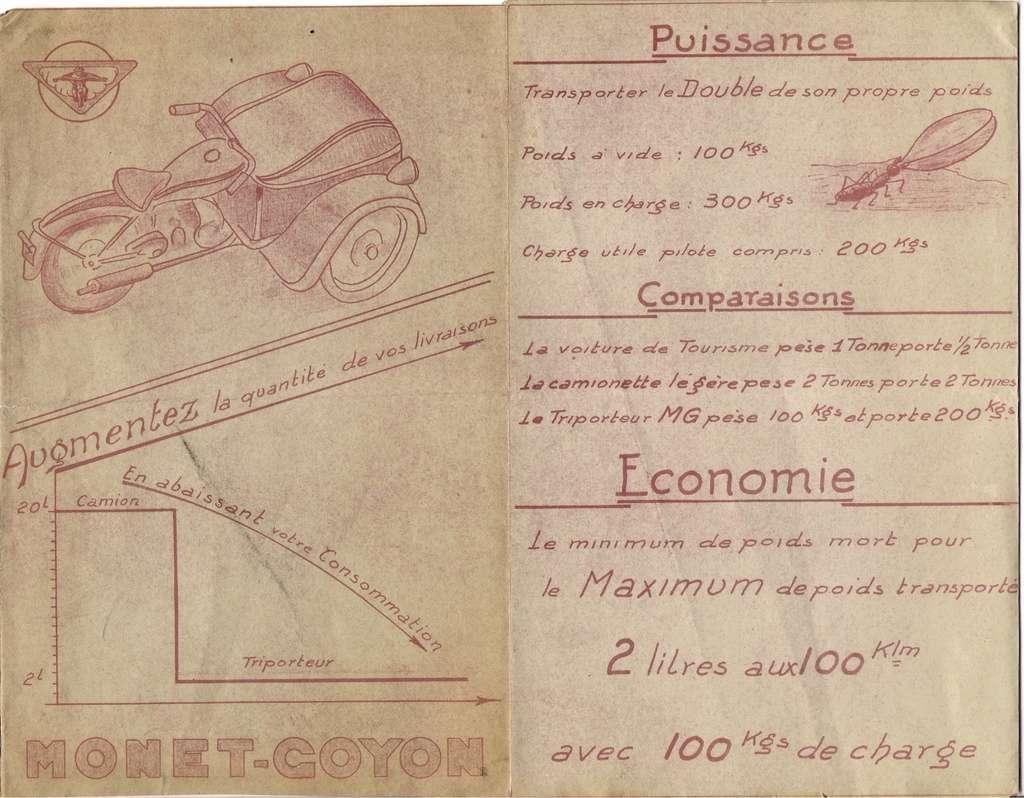 triporteur 100 cc Monet Goyon vu sur LBC Tpma-111