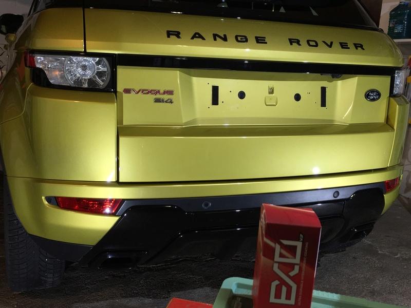 Giofac vs Range Rover EVOQUE Img_7629