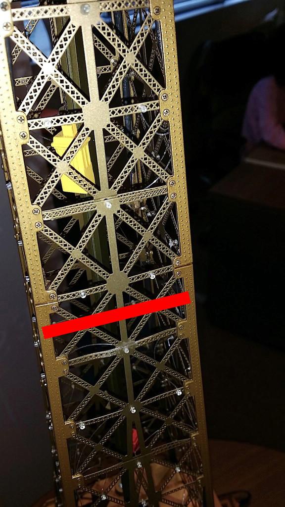 Projet de réalisation de l'étage intermédiaire entre 2ème et 3ème étage de la Tour Eiffel Etage-11