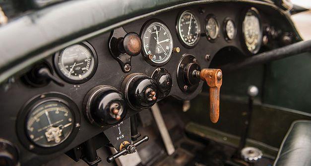 Bentley 4,5 litres Le Mans Sports de 1928 aux enchères. 1310