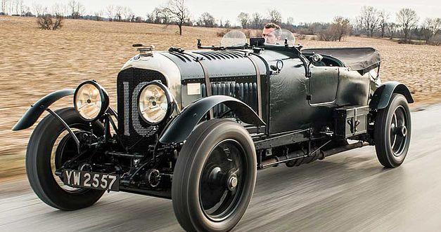 Bentley 4,5 litres Le Mans Sports de 1928 aux enchères. 1410