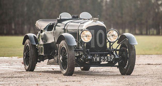 Bentley 4,5 litres Le Mans Sports de 1928 aux enchères. 1928be10