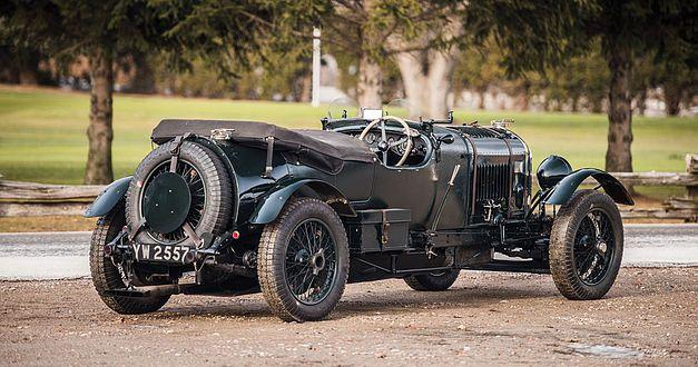 Bentley 4,5 litres Le Mans Sports de 1928 aux enchères. 1928be11