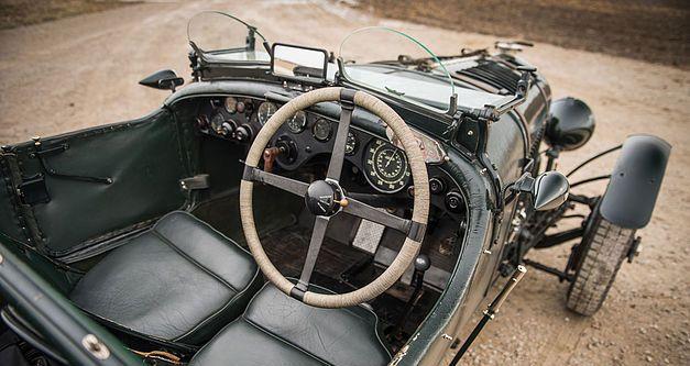 Bentley 4,5 litres Le Mans Sports de 1928 aux enchères. 1928be12