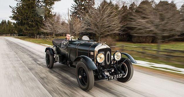 Bentley 4,5 litres Le Mans Sports de 1928 aux enchères. 1928be13
