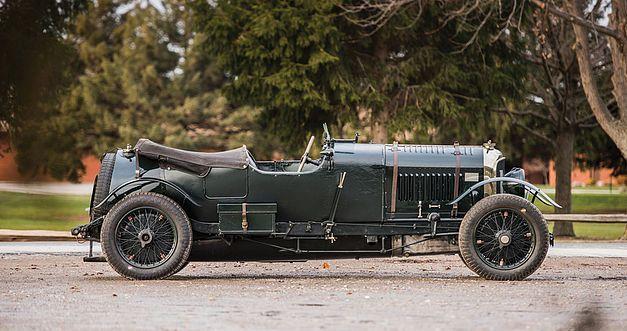 Bentley 4,5 litres Le Mans Sports de 1928 aux enchères. 1928be14