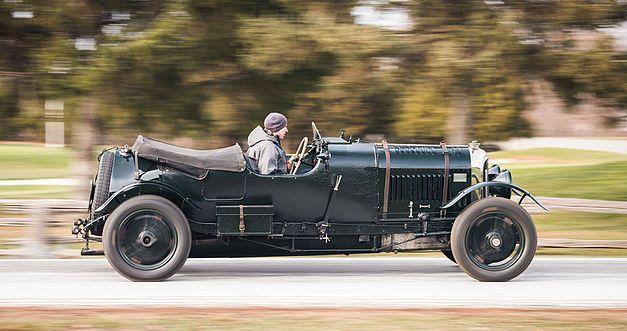 Bentley 4,5 litres Le Mans Sports de 1928 aux enchères. 1928be15