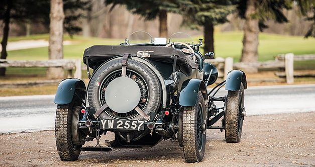 Bentley 4,5 litres Le Mans Sports de 1928 aux enchères. 1928be17