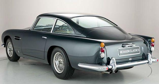 Un million d'euros pour la plus belle des Aston Martin DB5 1964as23