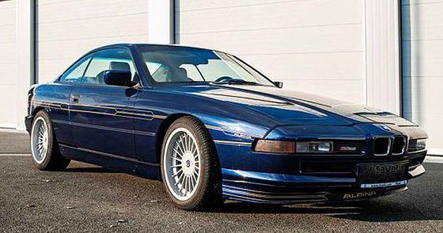 Cette rarissime Alpina B12 est à vendre 1992bm10
