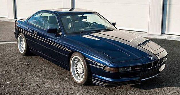 Cette rarissime Alpina B12 est à vendre 1992bm16