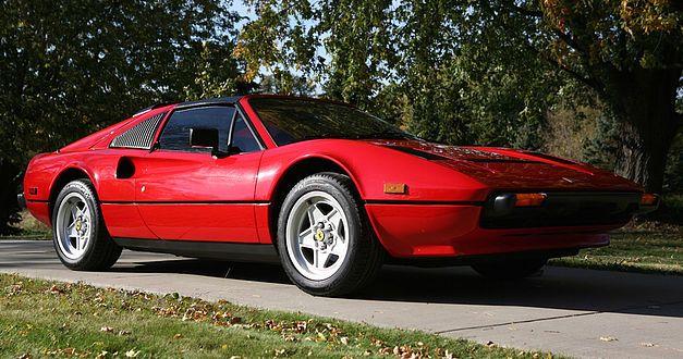 La Ferrari de Magnum proposée aux enchères. 214