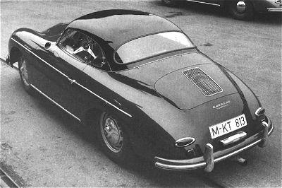 Porsche 356: Historique et filiation avec la Cox. Hardto10