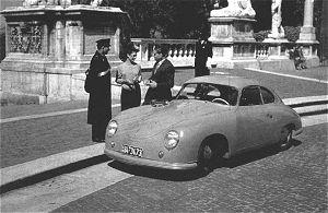 Porsche 356: Historique et filiation avec la Cox. Romain10