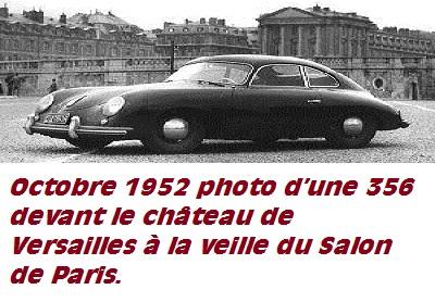 Porsche 356: Historique et filiation avec la Cox. Versai10