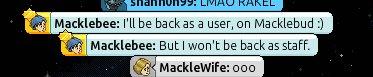 [ALL] Addio a Macklebee, lascierà il suo posto in Habbo!  C-f3ml10