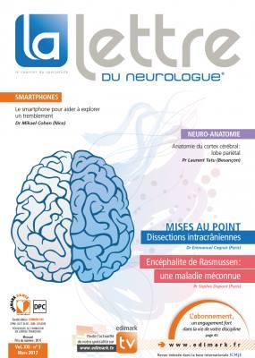 La Lettre du Neurologue / N° 3 mars 2017 17522910
