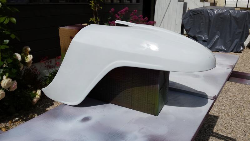 Lambretta SX200 replica project - Page 2 20170511