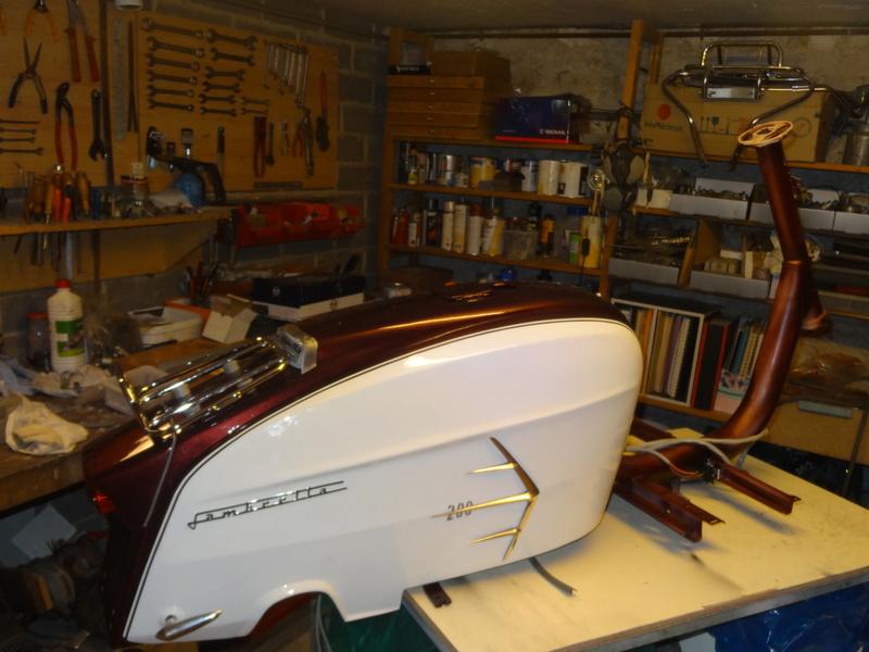 Lambretta SX200 replica project - Page 2 Dsc06117